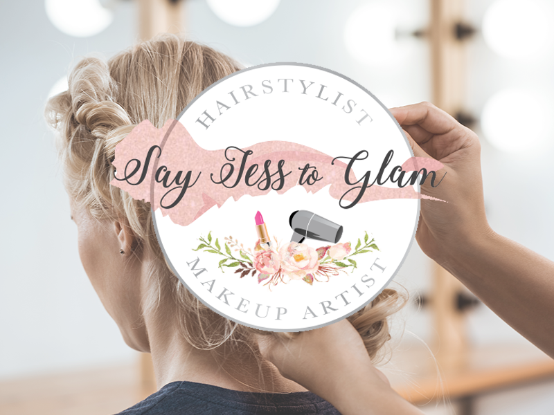 Say Jess To Glam - ConnEcht Business Logo